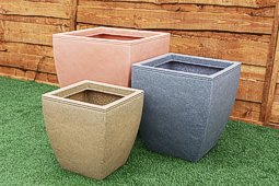 Egg Pot Square Planters