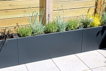 Large Trough Planters   View 4 ...