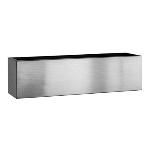Brushed Stainless Steel Troughs