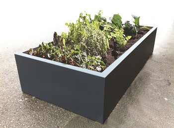 large trough planters. Black Bedroom Furniture Sets. Home Design Ideas
